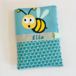 Protège carnet de santé abeille