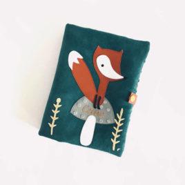 Protège carnet de santé renard
