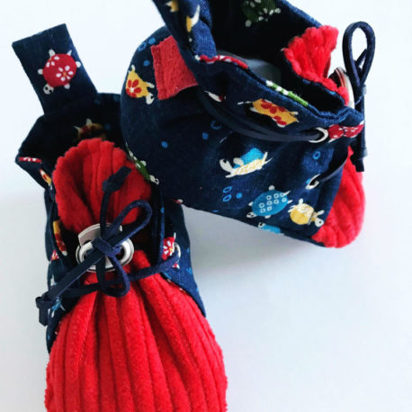 chaussons-bebe-rouge