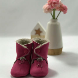 chaussons-rose