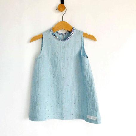robe-gaze-bleu