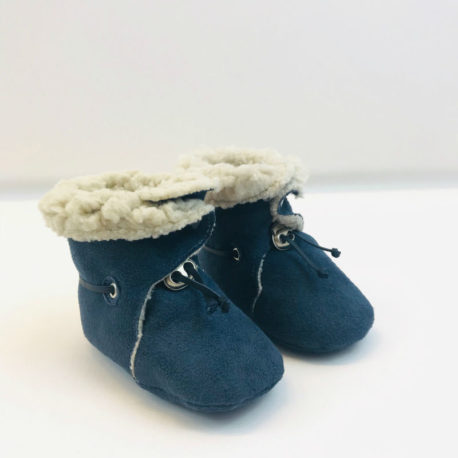 chaussons-bebe-bleu