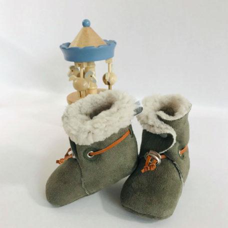 chaussons fourrés